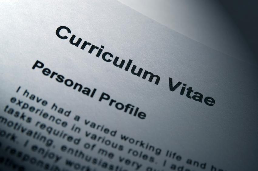 CV for a language job