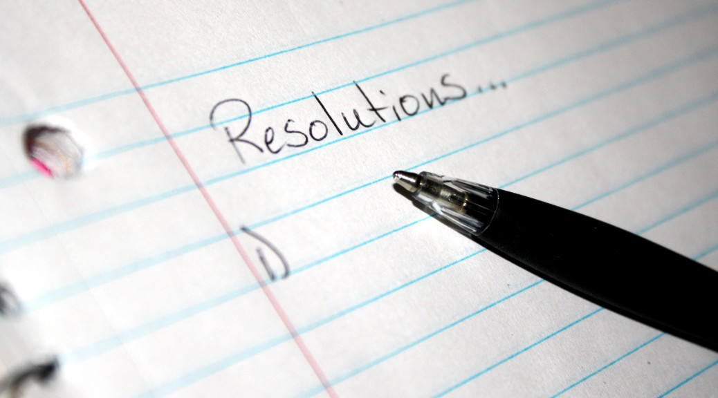 New Year's Resolutions to Help you Bag a Job you Love in 2018